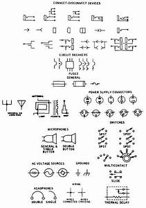 Electronic Component Schematic Symbols  Input Jacks   Power Supplies And Antennas