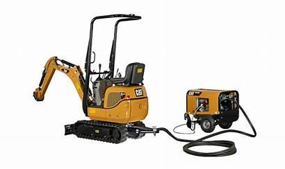 Excavator Mini 300 9d Caterpillar Electric Power