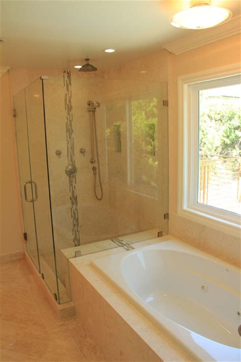 garden tub shower combo home design ideas and pictures lovely original 1024x768 1280x720 1280x768 1152x864 1280x960 size 1024x768 corner garden master bathroom remodel complete with tub large
