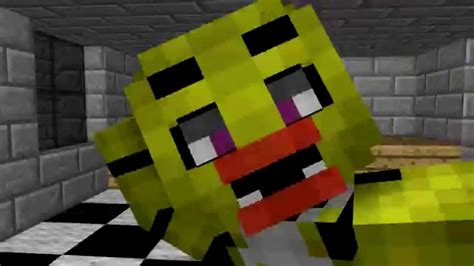 nights  freddys minecraft chica jumpscare youtube