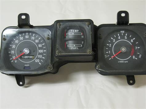 Datsun 510 Parts For Sale by Cluster With Tach For 70 73 Datsun 510 Datsun