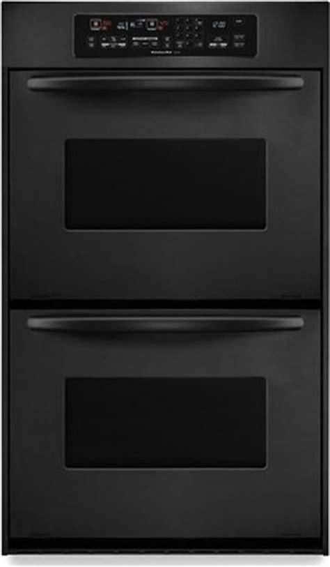kitchenaid kebcvbl  double electric wall oven