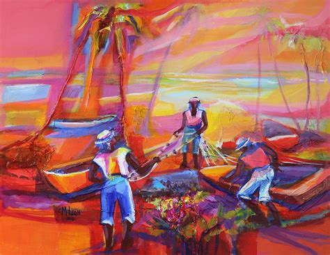 Fishers Of Men Ii Painting By Cynthia Mclean