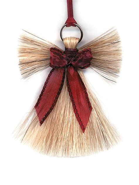 cowboy collectibles natural horse hair angel christmas