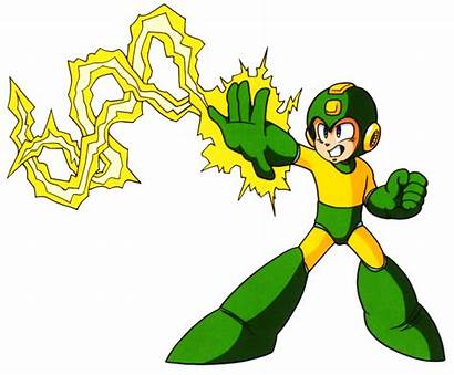 Shock Electric Megaman Jupiter Clipart Electro Mega