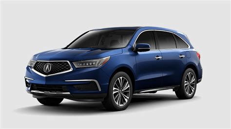 acura mdx color options