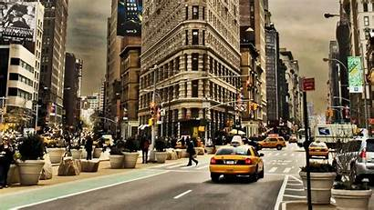 York Wallpapers Backgrounds Background Nyc Ny Street