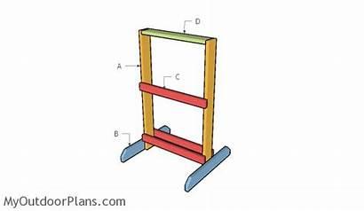 Target Stand Plans Building Wooden Diy Myoutdoorplans