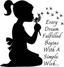vinyl wall dandelions blowing wishes