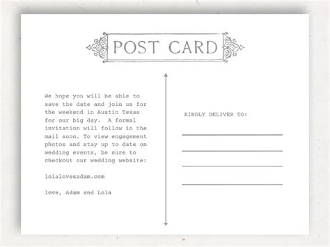 postcard templates  mac  sample