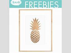 7 Best Images of Free Pineapple Printables Printable