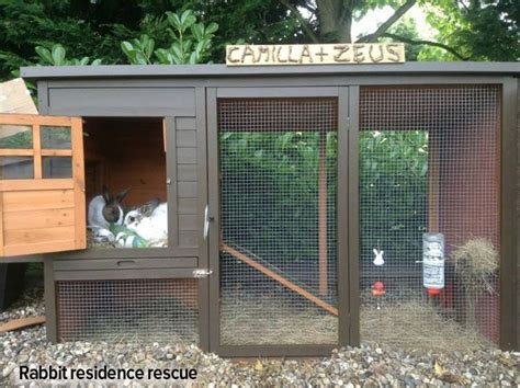 Creative Rabbit Hutches - the 25 best rabbit hutch plans ideas on cages