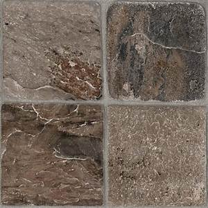 Shop style selections 1 piece 12 in x 12 in tumbled stone for Cheap vinal flooring
