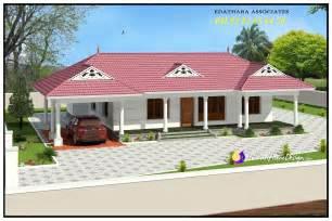 Kerala Single Floor Home Design