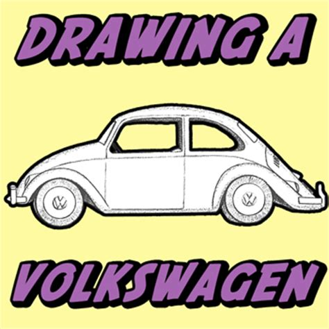 punch buggy car drawing how to draw a volkswagen beetle punch buggy with easy