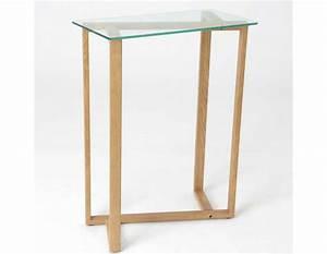 petite console bois idee interessante pour la conception With meuble pour petite entree 5 petite console en bois de mindy faible profondeur