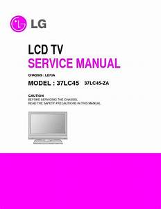 Lg 32lc55  32lc56  32lc7d  Chassis Ld73a  Service Manual  U2014 View Online Or Download Repair Manual