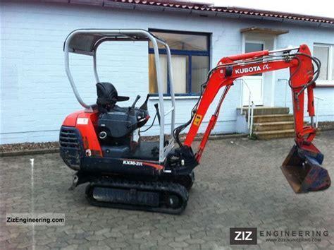 kubota kx    minikompact digger construction equipment photo  specs