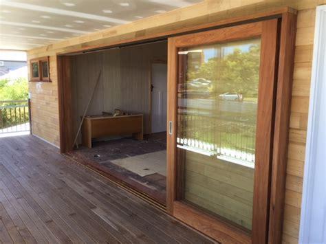 sliding timber doors beachwood doors  joinery