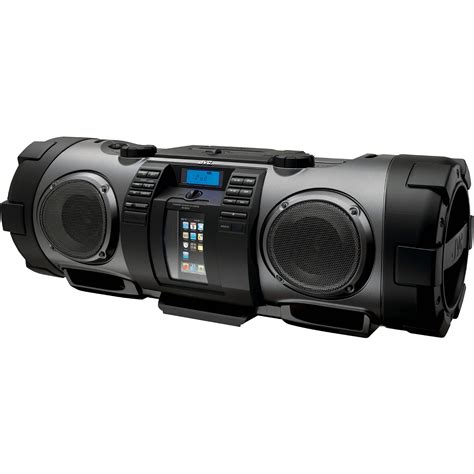 Tabletop Radio Cd Player by Jvc Rv Nb70b Quot Kaboom Quot Portable Boom Box Black
