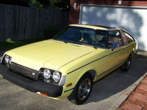 Toyota Celica Gt For Sale by 1978 Toyota Celica Gt Hatchback Liftback For Sale Toyota