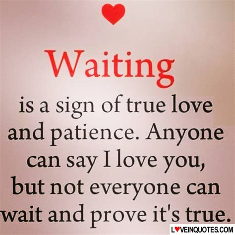 Waiting Someone You Love Quotes