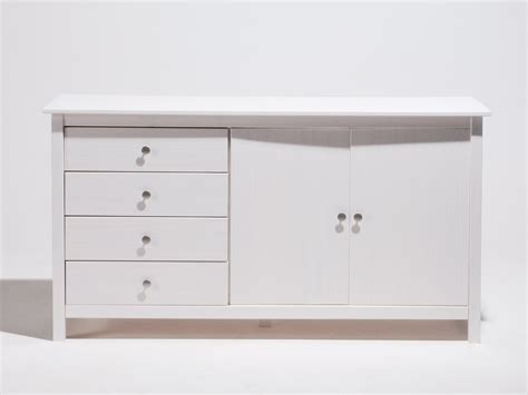meuble bas cuisine 80 cm soldes buffet bas en bois massif 2 portes 4 tiroirs