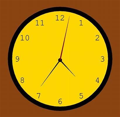 Clock Analog Virtual Python Pygame Created