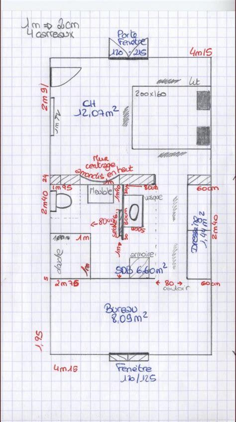 plan chambre salle de bain dressing avis pour plan de sdb dans suite parentale 19 messages