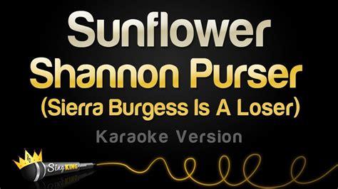 Sunflower (karaoke Version)