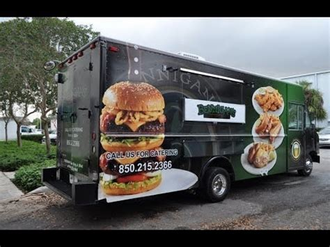 cuisines sold馥s bennigan 39 s food truck
