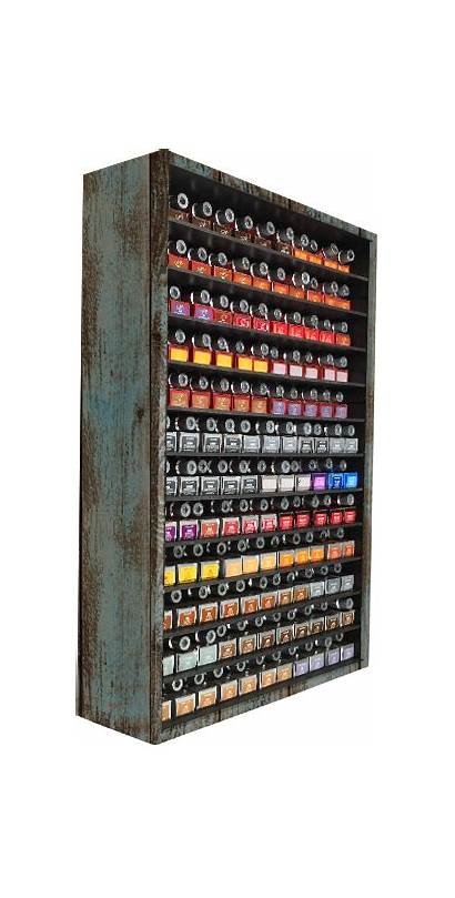Salon Hair Storage Bar Cabinet Rack Organizer