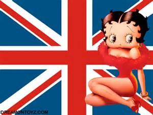 Betty Boop International Flags