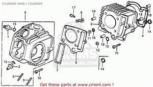 honda ct70 trail 70 1982 usa cylinder head cylinder car With ct70 wiring diagram honda ct70 vintage honda elsinore cr125 cr250 mr50
