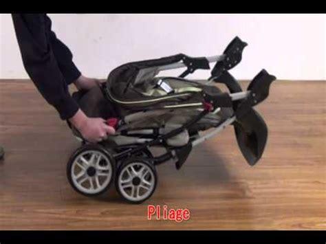 bebeachat com poussette bébé 4 roues combiné 3 en 1 réf