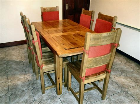 Kitchen Chairs Belfast by Kitchen Table Hornbeam Wood And Six Matching Chairs In