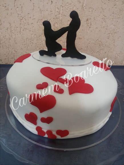bolo noivado  elo carmem boaretto cake designer artesa