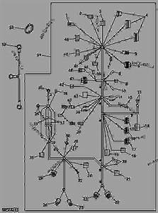 Wiring Harness  Main  2030   North America  Export  - Progator John Deere 2030 - Progator