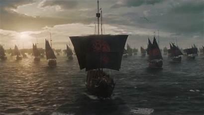 Westeros Khaleesi Thrones Daenerys Fleet Season Army