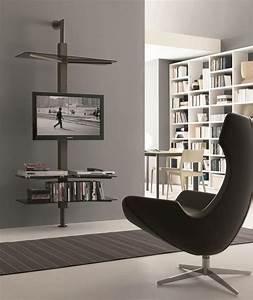 Tv Ständer Design : einstellbare tv st nder wand oder decken idfdesign ~ Indierocktalk.com Haus und Dekorationen