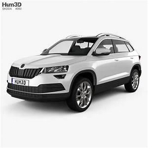 Skoda Karoq Dimensions : skoda karoq 2018 3d model vehicles on hum3d ~ Medecine-chirurgie-esthetiques.com Avis de Voitures