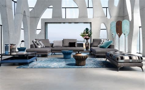 canape 2places symbole sofa design sacha lakic for roche bobois design