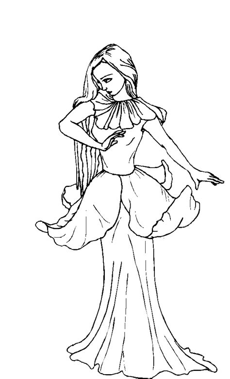 fairy coloring pages  girls coloring home