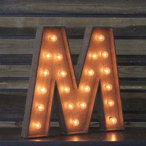 Edison marquee letter quotmquot town country event rentals for Marquee letter m