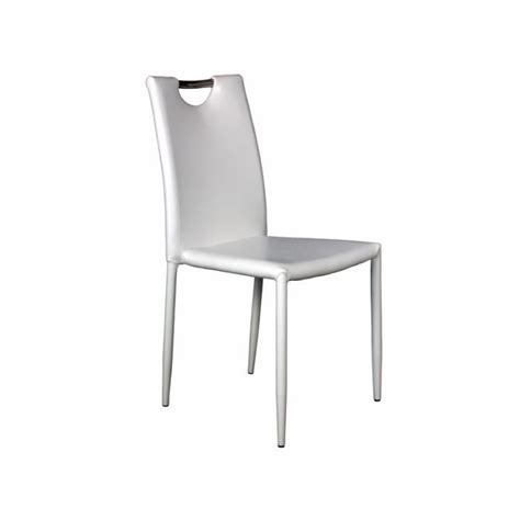 lot 4 chaises blanches lot 4 chaises blanches achat vente chaise salle a