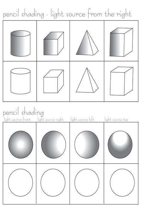 pencil shading exercises pencil shading worksheet free at
