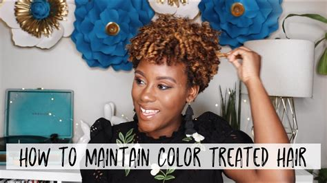 How To Prevent Breakage & Care For Color Treated Natural