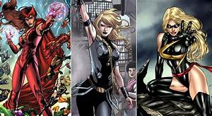 10, Most, Powerful, Female, Avengers, Of, All, Time