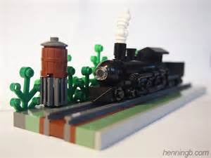 Microscale LEGO Train