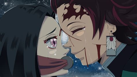 demon slayer love crying  hd wallpapers hd wallpapers